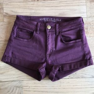 American Eagle outfitters hi-rise shortie size 2